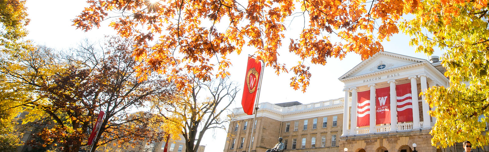 Bascom Hall Fall